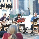 NYC Guitar Orchestra Members in Concert at Gantry Plaza State Park